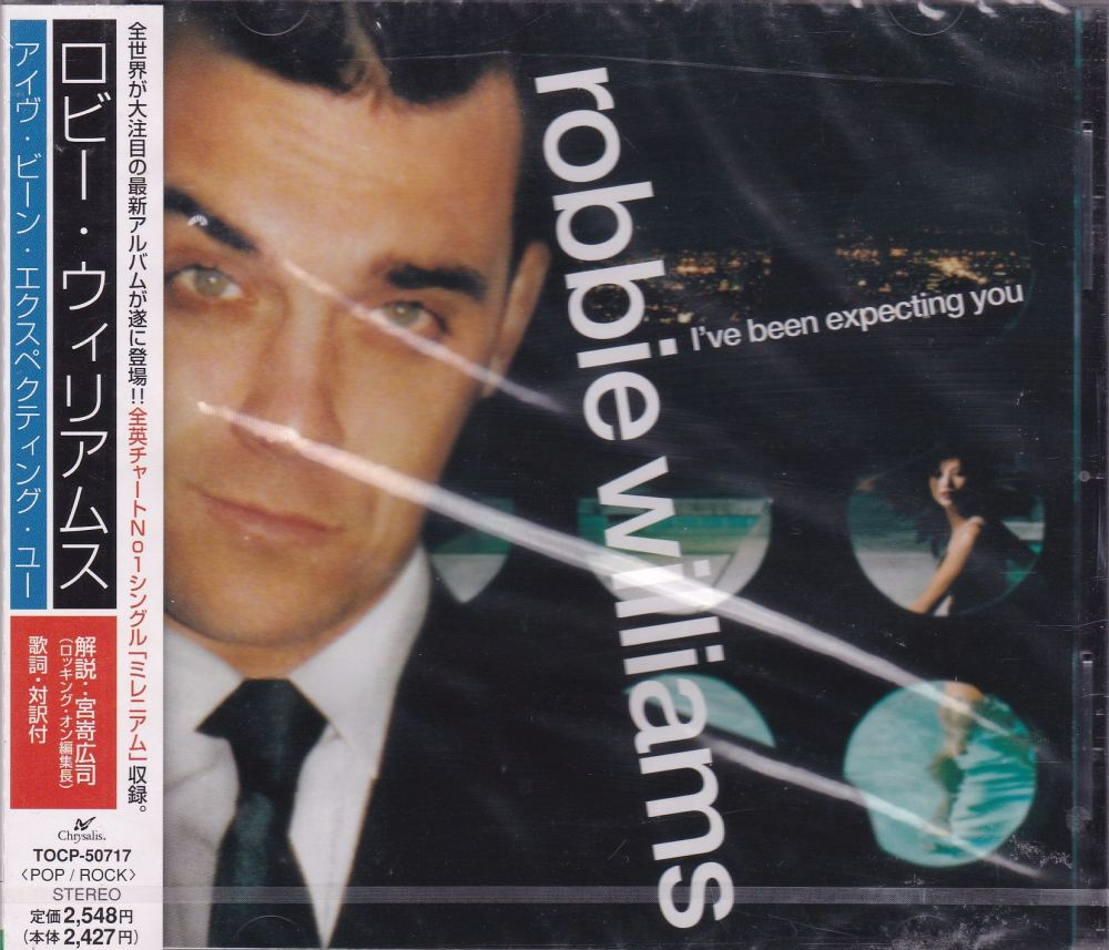 Robbie Williams   I've Been Expecting You    Japanese Import CD