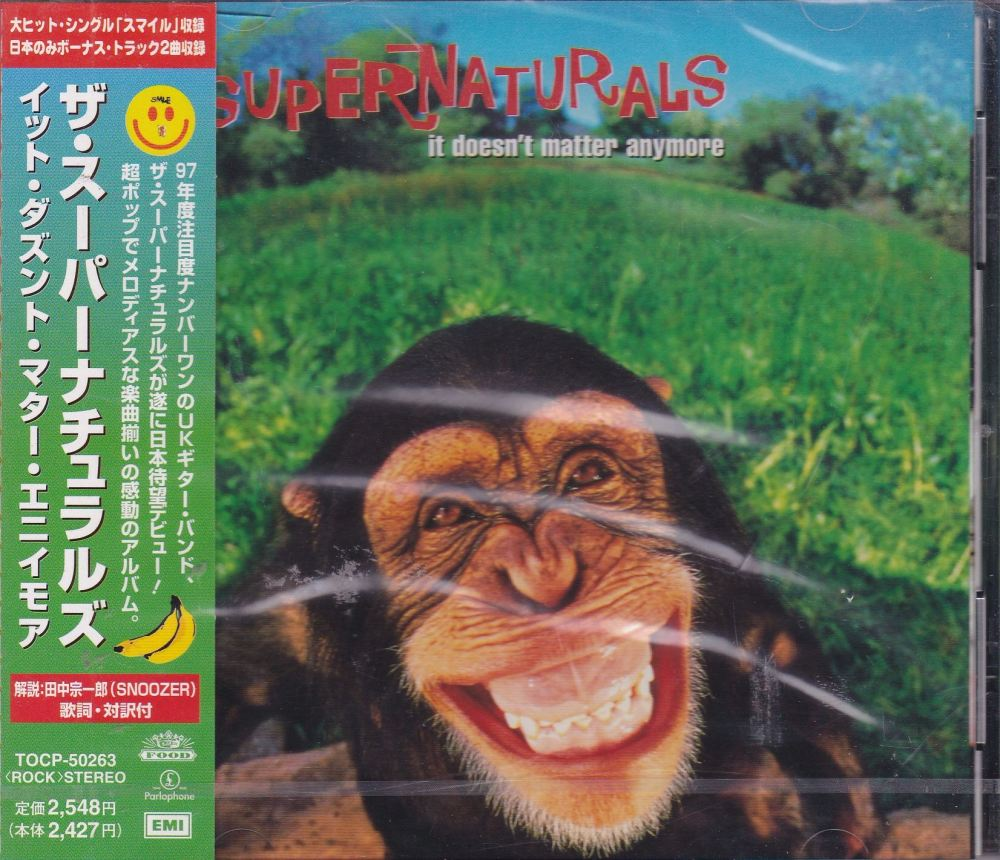 Supernaturals    It Doesn't Matter Anymore    Japanese Import CD