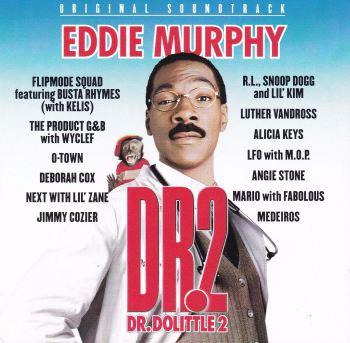 Dr.Dolittle 2  Original Soundtrack CD   Various Artists  2001 CD