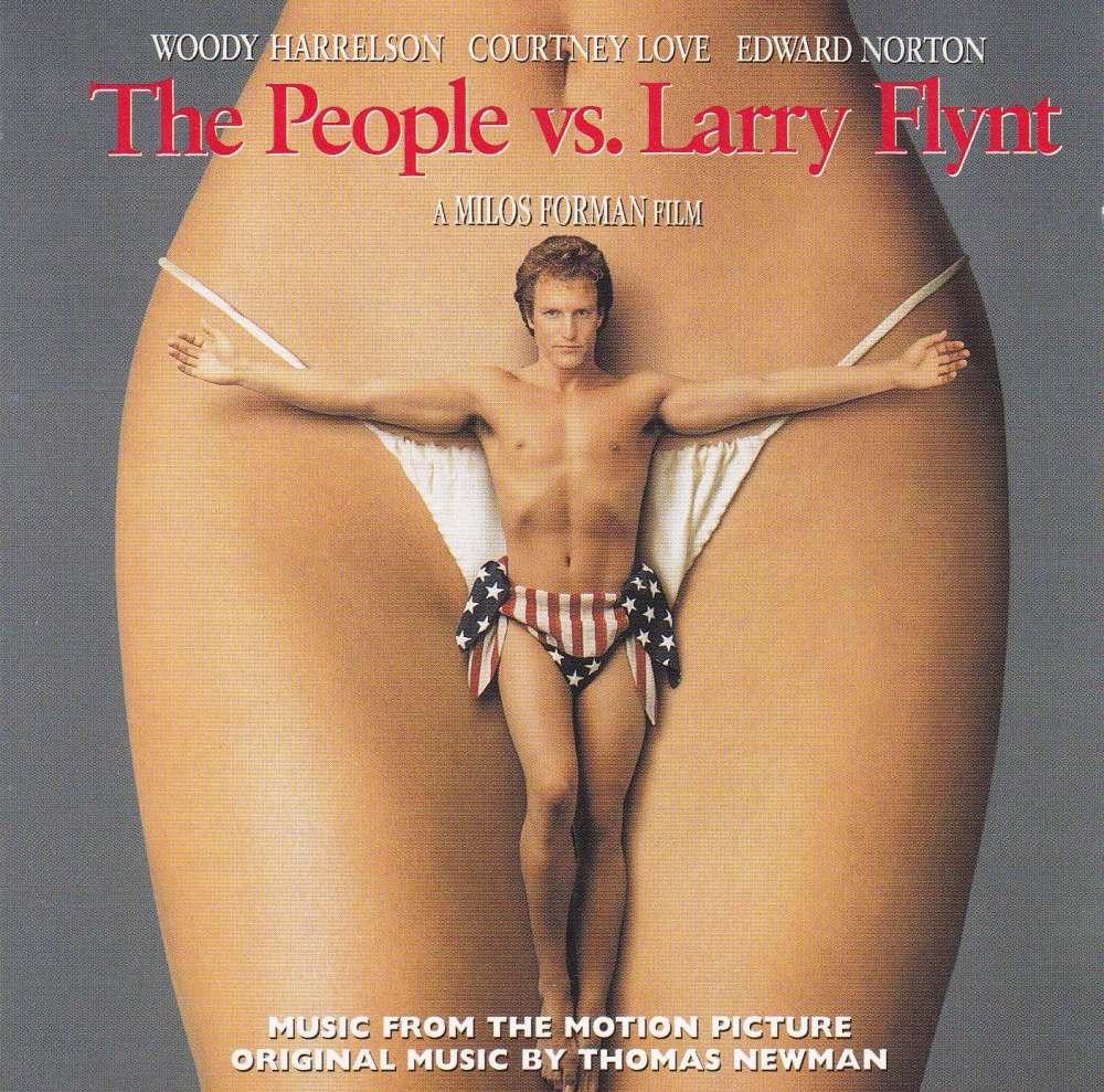 The People Vs. Larry Flynt  Original Soundtrack  Thomas Newman    1996 CD