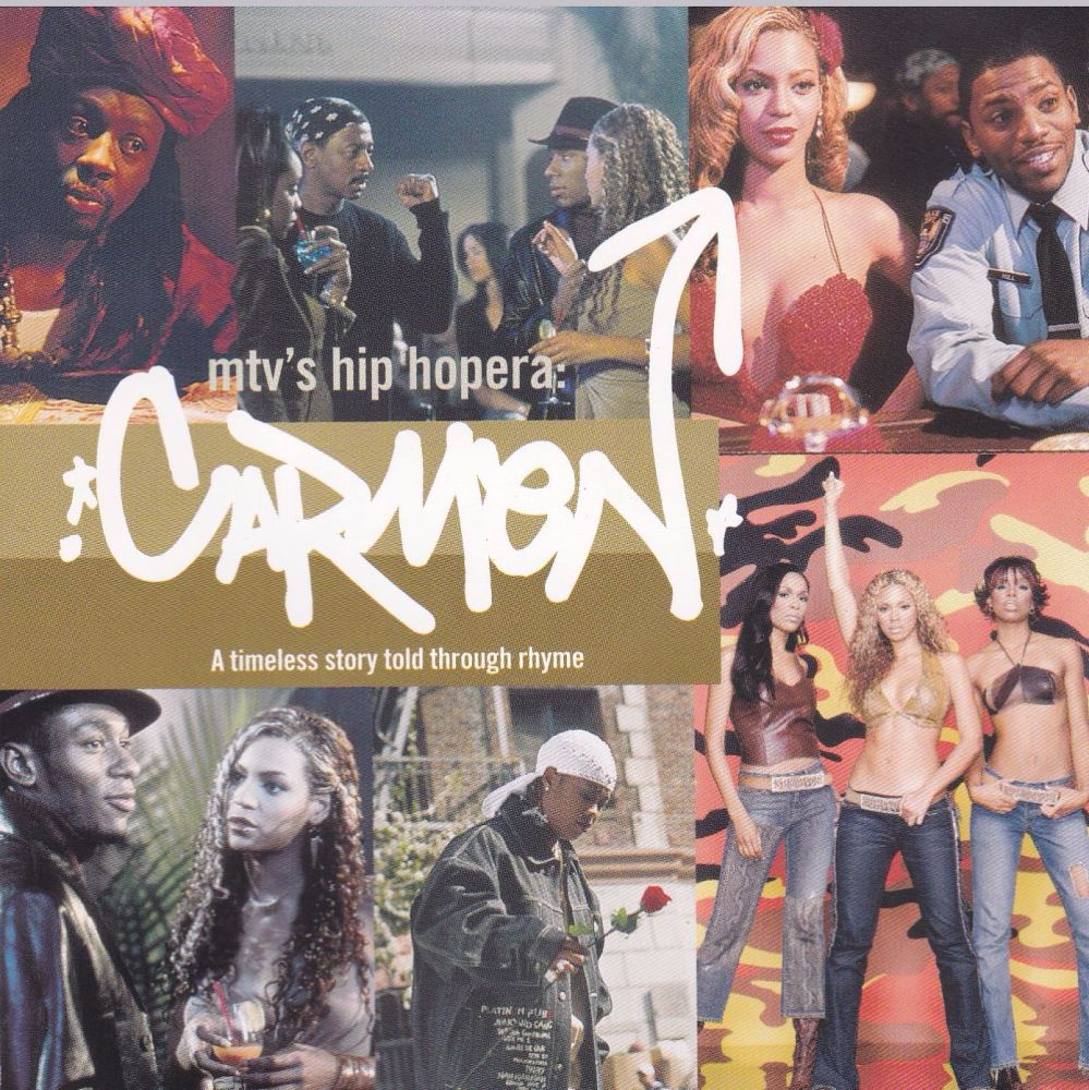 Carmen  Soundtrack Mtv'S Hopera Carmen   Various Artists  2001 CD