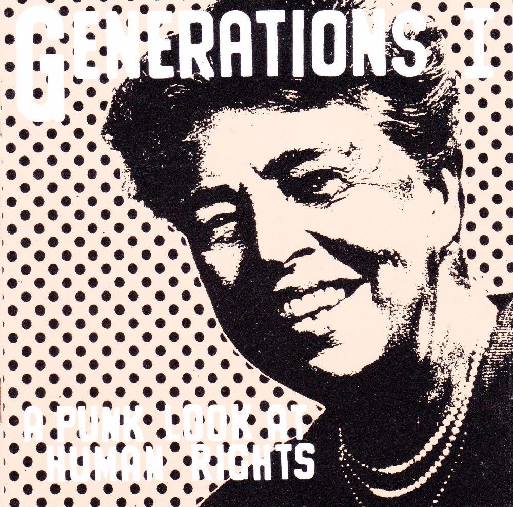 Various  Artists   Generations 1 -A Punk Look At Human Rights    1997 CD