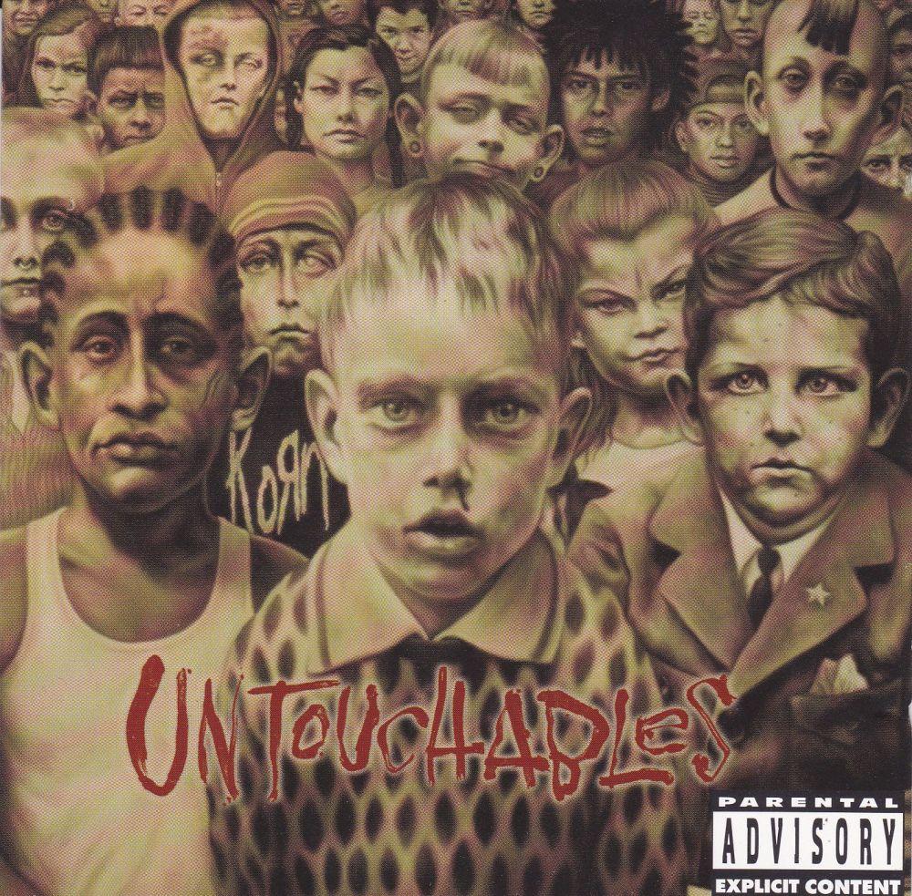 Korn      Untouchables      2002 CD