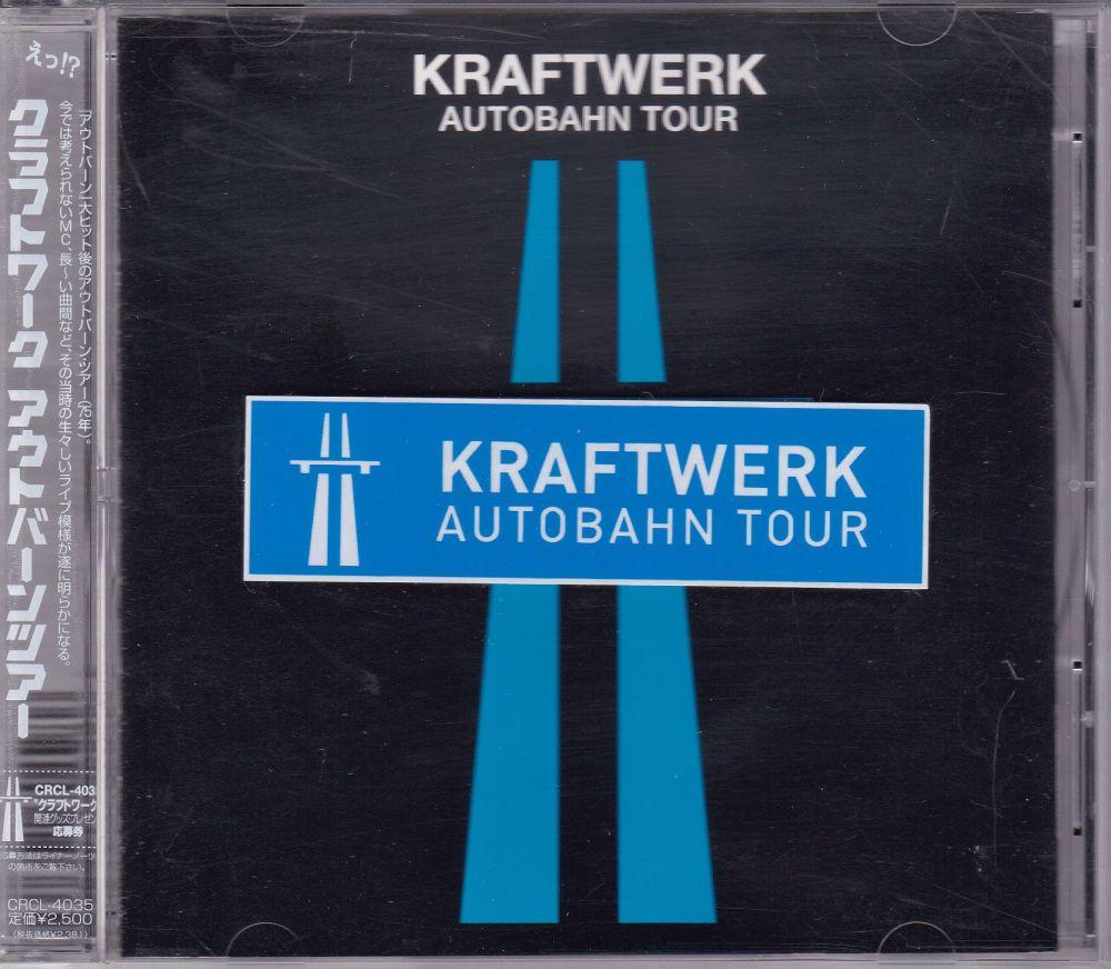 Kraftwerk     Autobahn Tour      1998 Japanese  Import CD Not Sealed