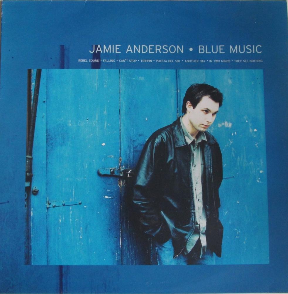 Jamie Anderson     Blue Music       Double Vinyl 12