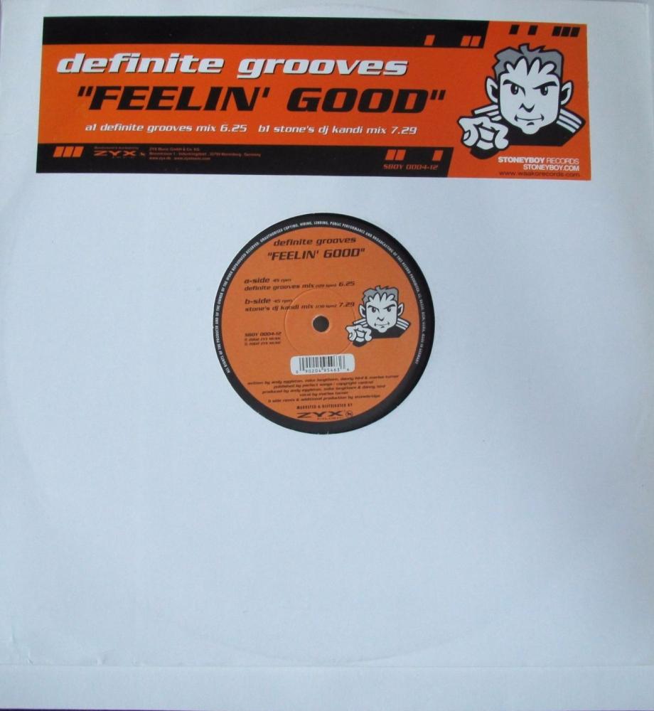 Definite Grooves       Feelin Good       2002  12