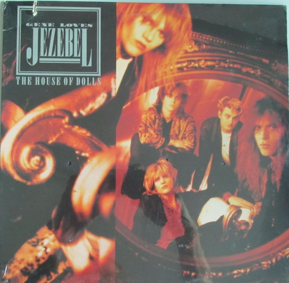 Gene Loves Jezebel     The House Of Dolls    1987 U.S.A Import Vinyl LP