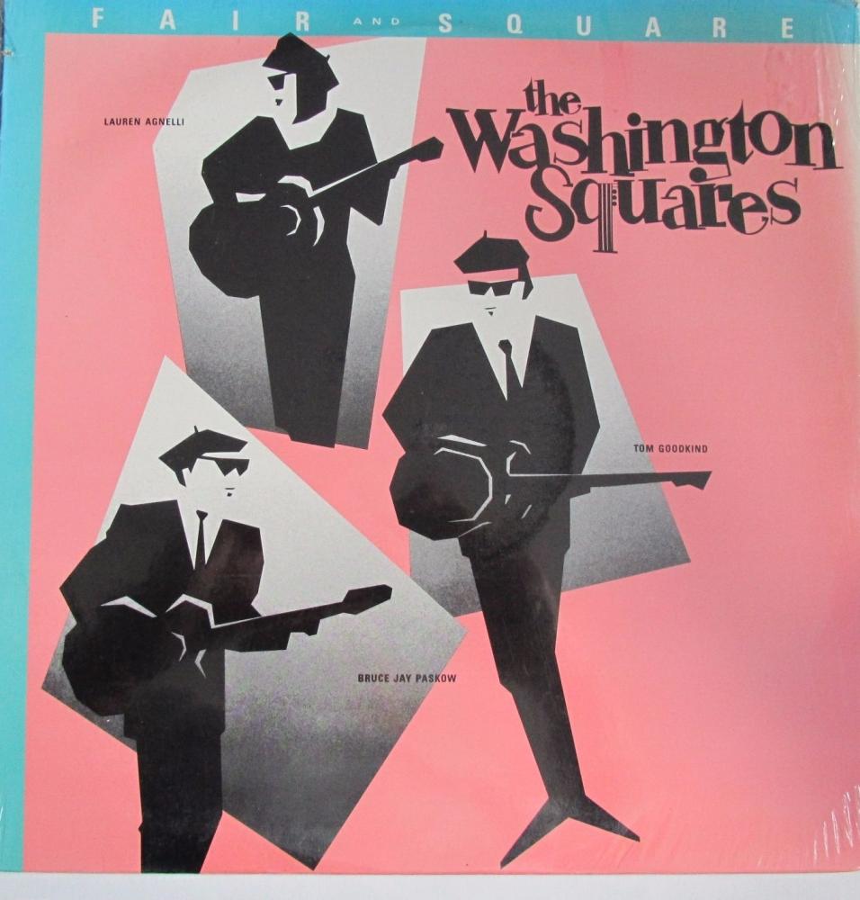 Washington Squares     Fair And Square  1989 U.S.A Import Vinyl LP