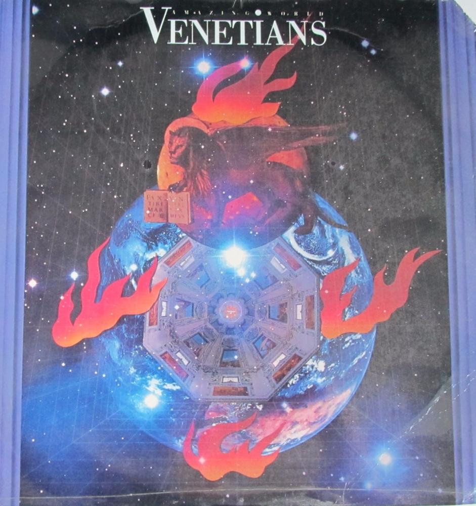 Venetians    Amazing  World     1988 U.S.A Import Vinyl LP