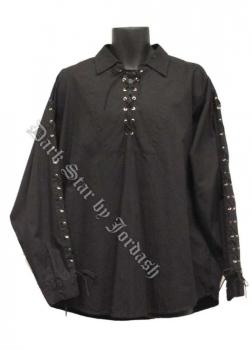 Dark Star by Jordash Men's Cotton shirt DS/SH/210  Black