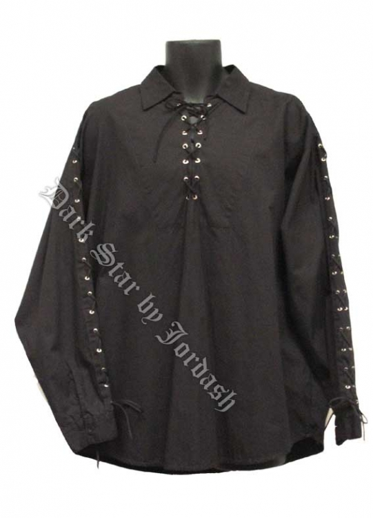 Dark Star by Jordash Men's Cotton shirt DS/SH/210  Black