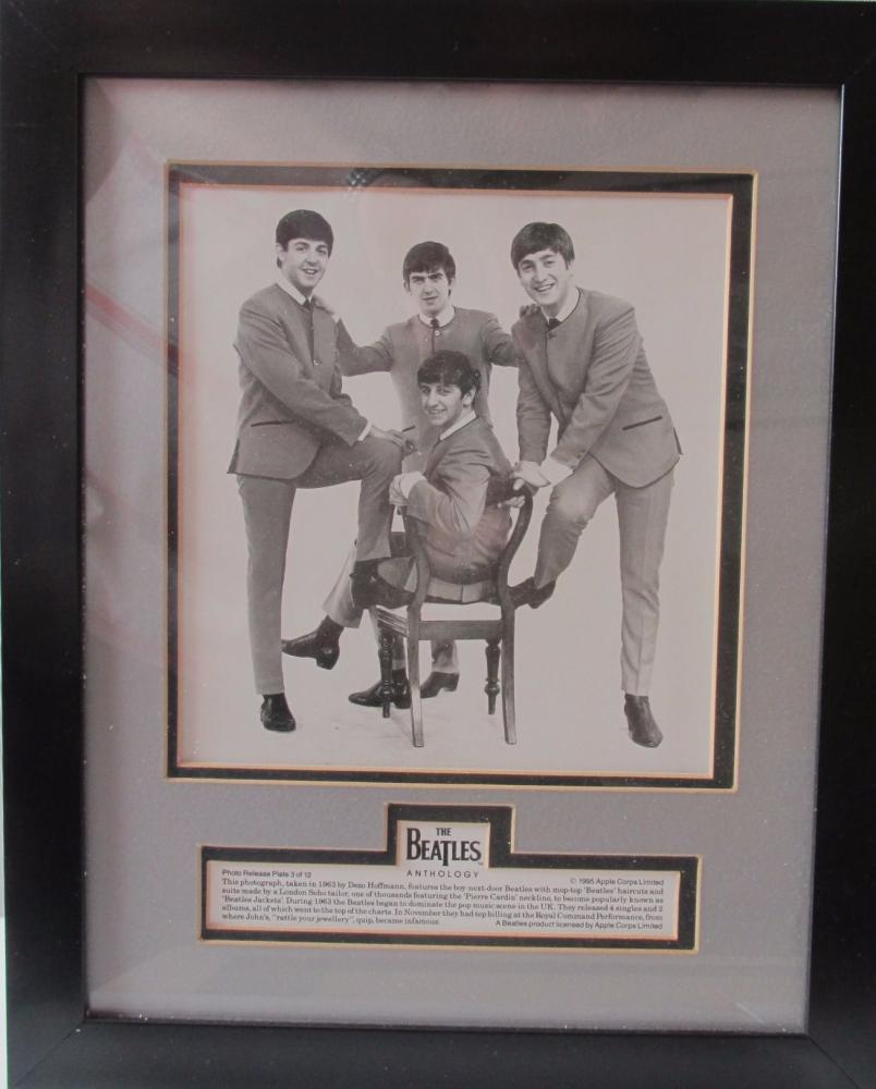 Beatles    Framed Anthology  Photo Release Plate 3