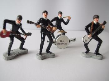 Beatles    The Beatles - Four Rare  Die-Cast Figurines