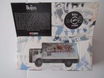 Beatles     The Beatles AEC 4  Wheel Flatbed Lorry With Billboard Corgi Model 2230  Boxed