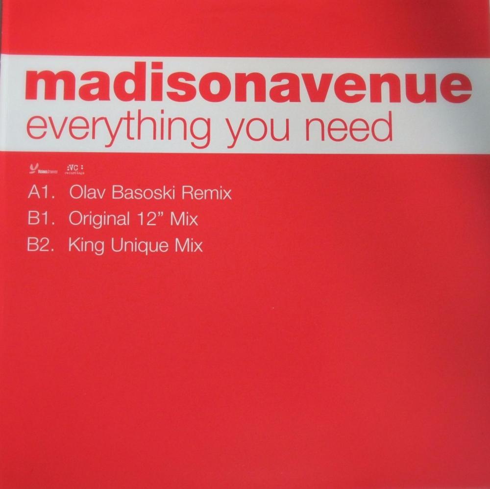 Madison Avenue   Everything You Need   2000 12