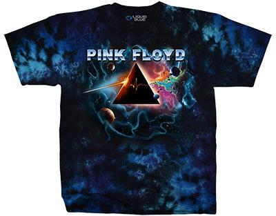 Pink Floyd Pulsar Prism Tie Dye T-Shirt