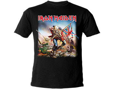 Iron Maiden The Trooper Original T-Shirt