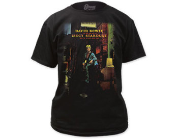 David Bowie Ziggy Stardust T-Shirt Black
