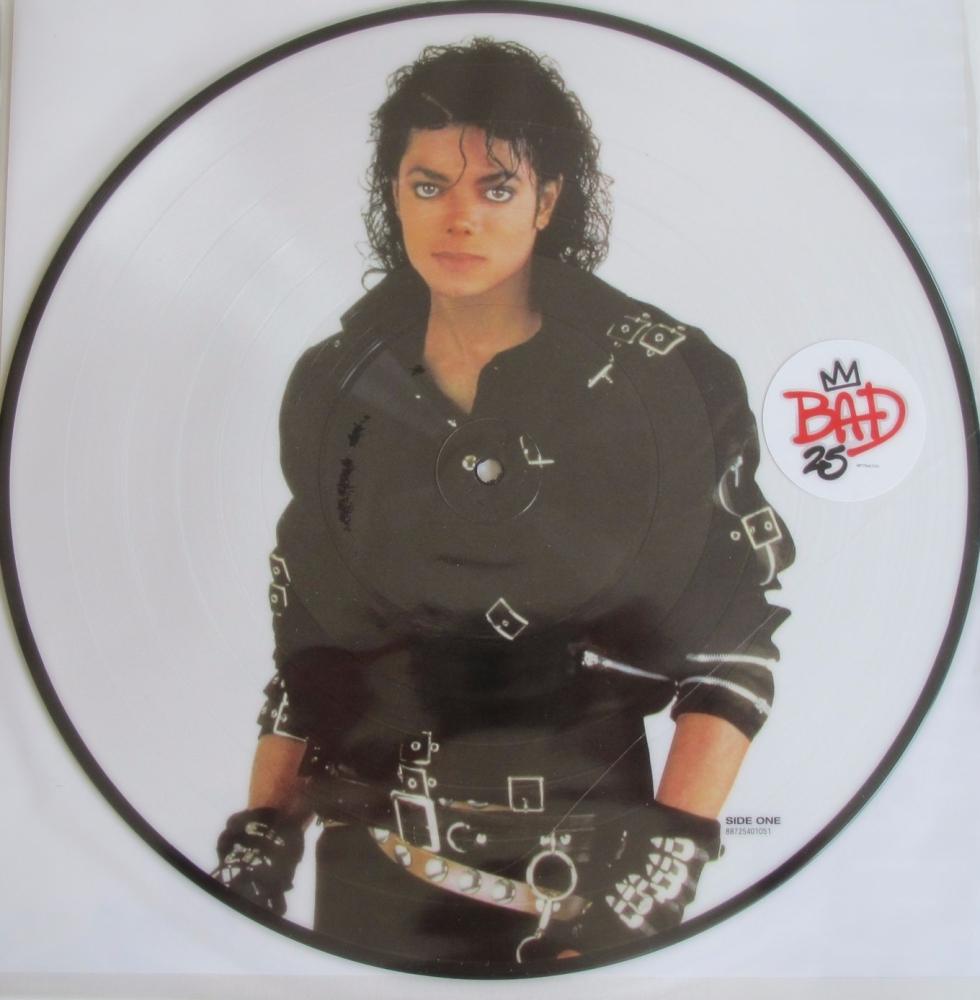 Michael Jackson  Bad 25th Anniversary Picture Disc  2012 Vinyl LP