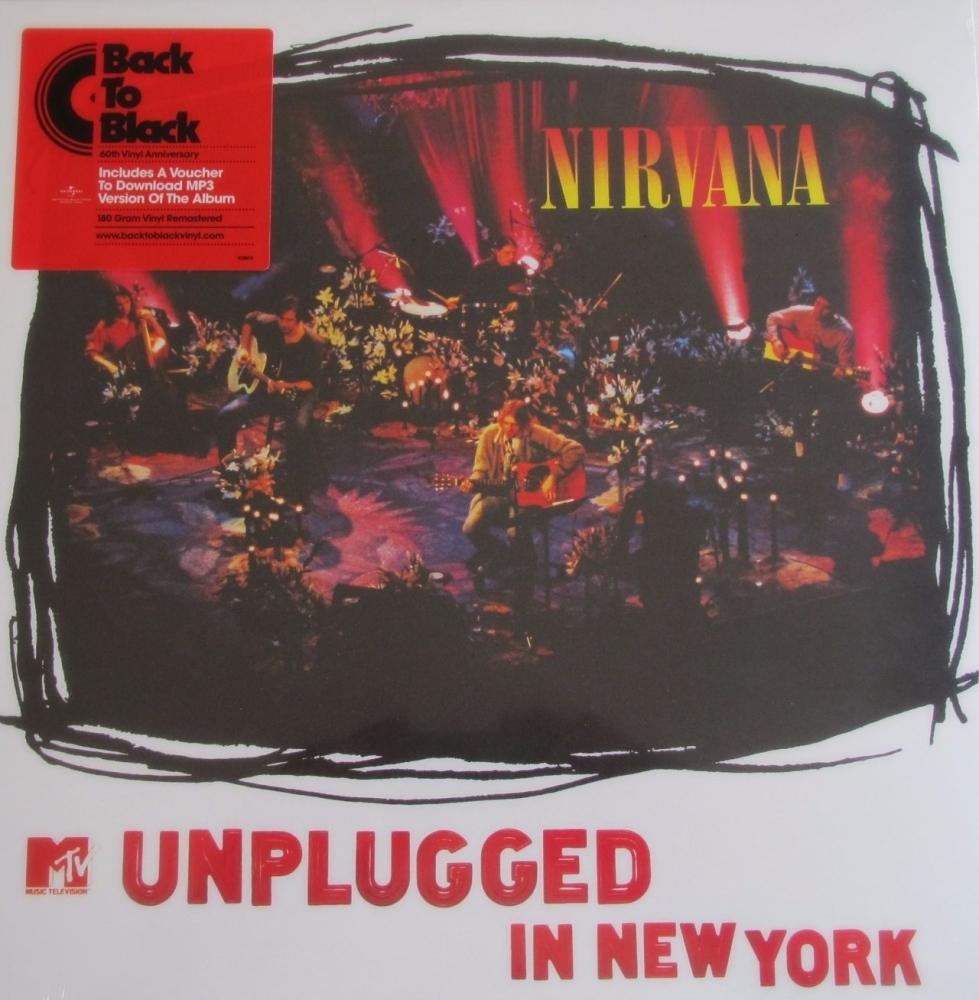 Nirvana   Unplugged In New York  180 Gram Vinyl LP+ MP3 Download