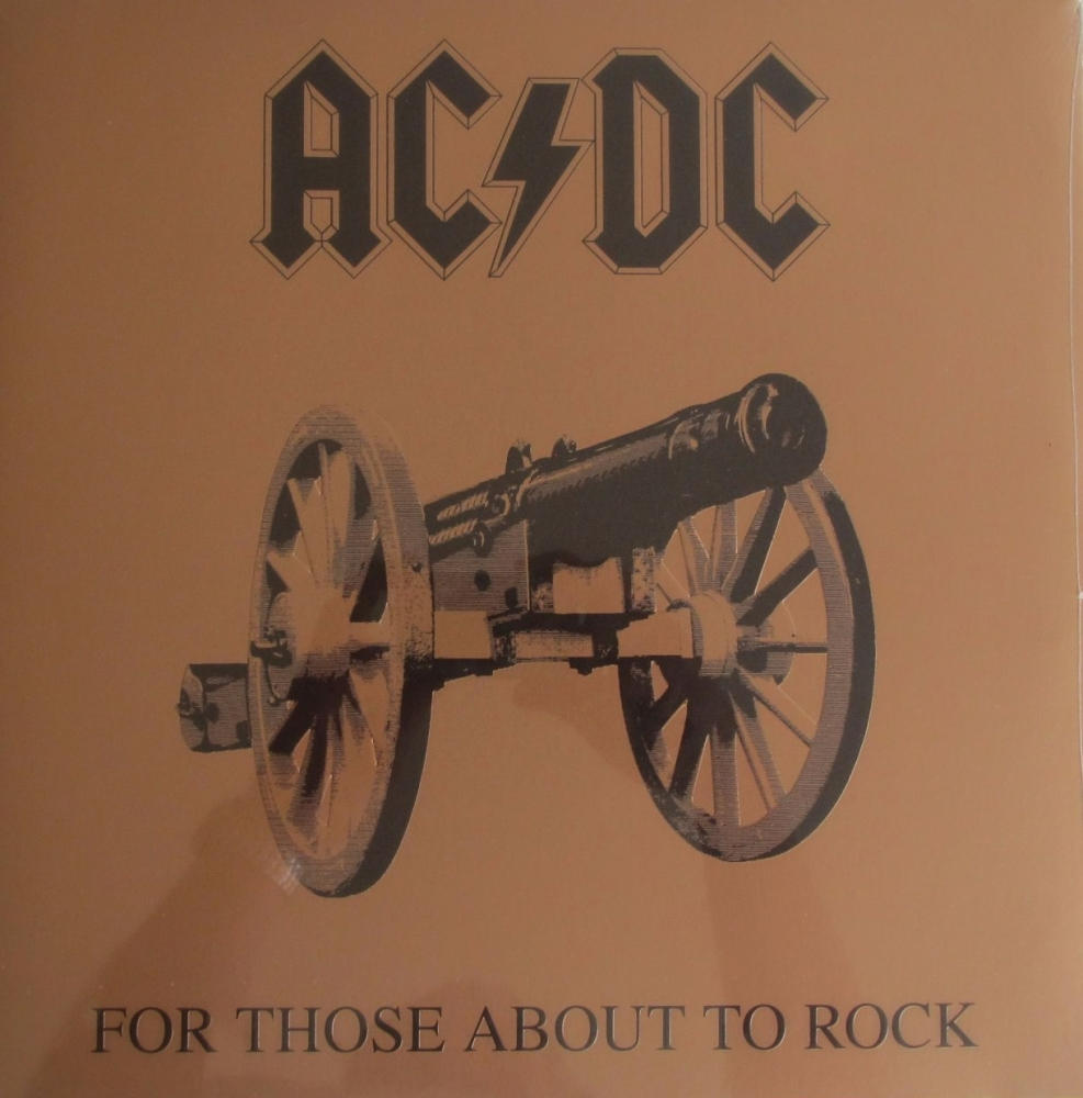 AC/DC  For Those About To Rock We Salute You  Vinyl LP