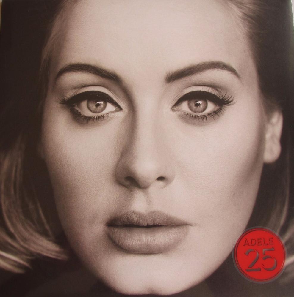 Adele       25          2015 Vinyl LP