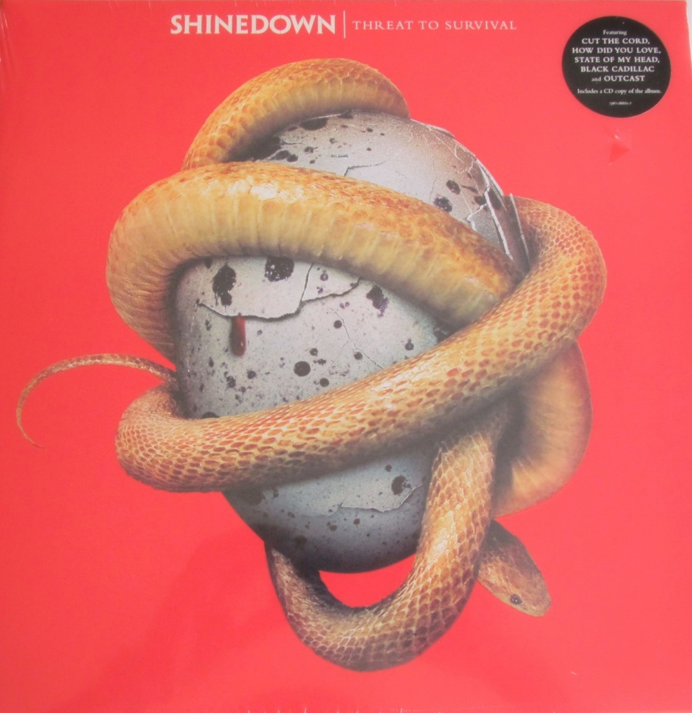 Shinedown   Threat To Survival    2015 Vinyl LP Includes A CD Copy Of The A