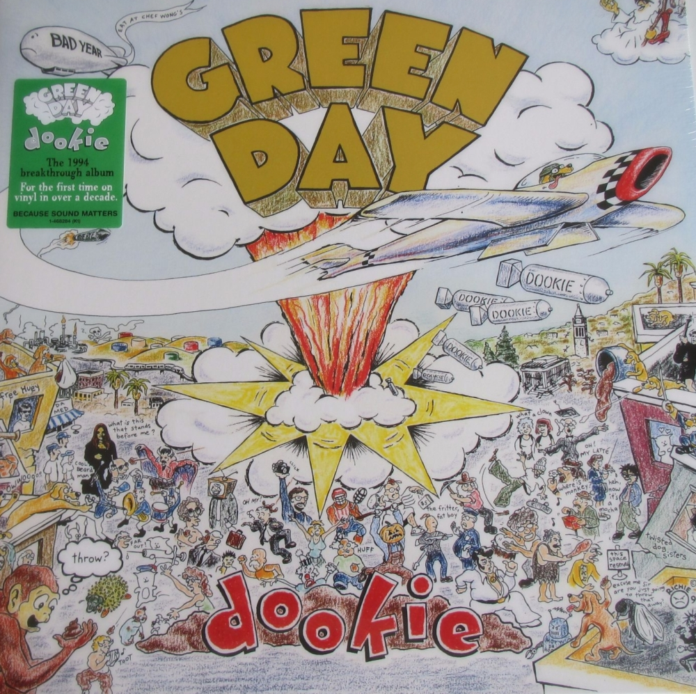 Greenday    Dookie       Vinyl LP