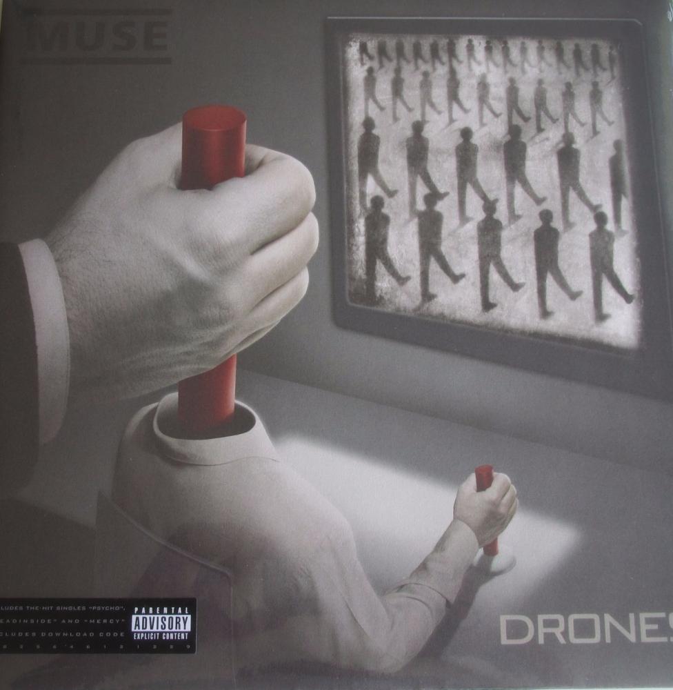 Muse     Drones       2015  Double Vinyl LP Includes  Download Code
