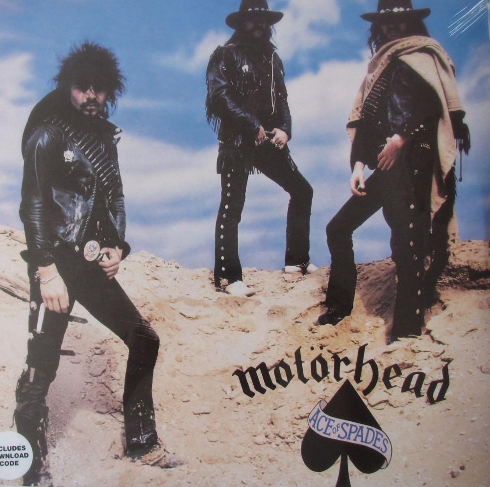 Motorhead      Ace Of Spades     Vinyl LP  Includes  Download Code
