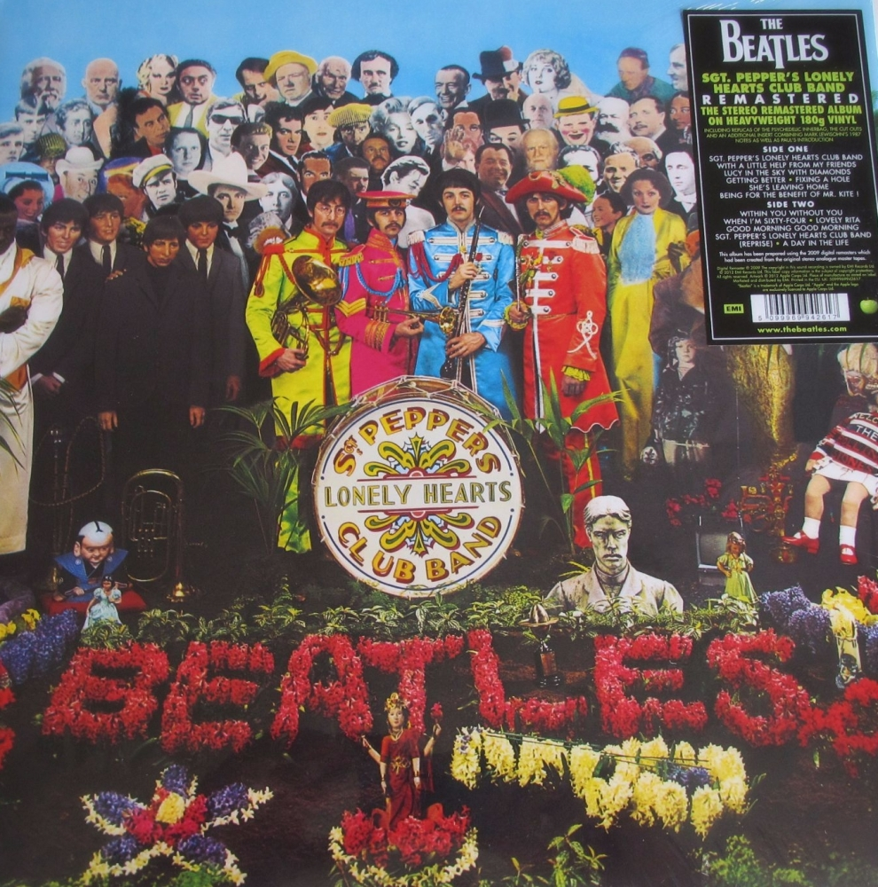 Beatles  Sgt Peppers Lonely Hearts Club Band  Remastered 2012  180 Gram Hea