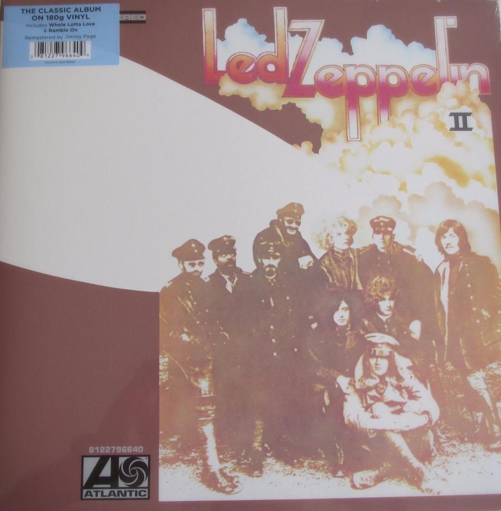 Led Zeppelin   II    The Classic Album On 180 Gram Vinyl LP