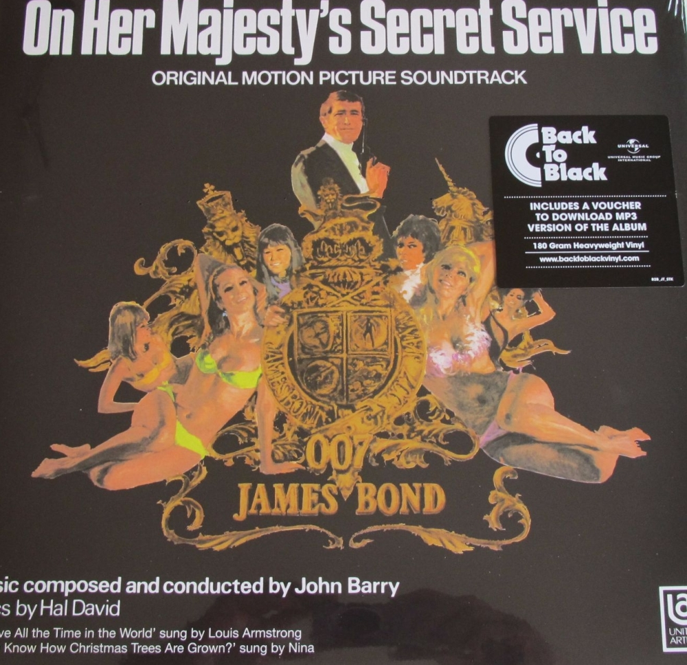 On Her Majesty's Secret Service  Original Soundtrack John Barry  2015 180 G