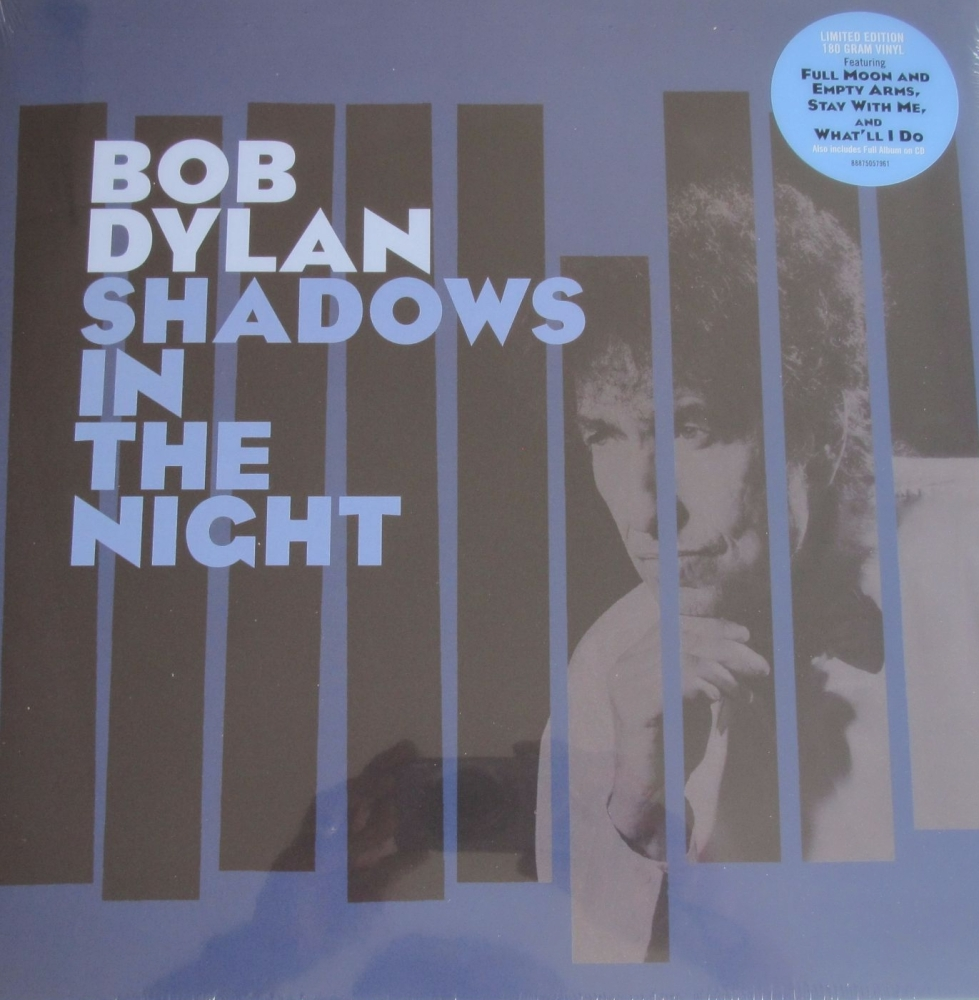 Bob Dylan    Shadows In The Night    Limited Edition  2015 180 Gram Vinyl L