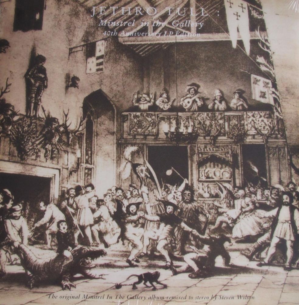 Jethro Tull   Minstrel In The Gallery     2015  40th Anniversay Vinyl LP Ed