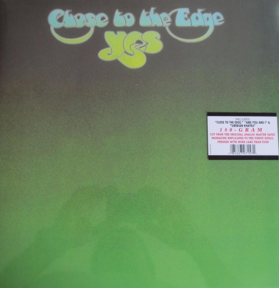 Yes       Close To The Edge      180 Gram Vinyl LP