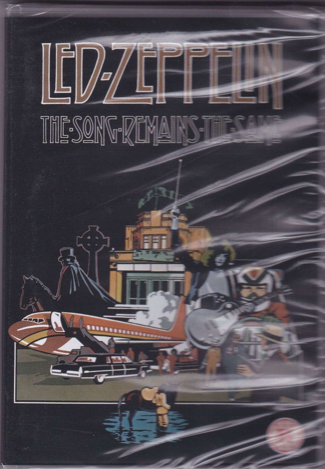 Led Zeppelin      The Song Remains The Same     20012 Region 2 DVD