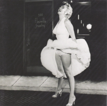 Hollywood Icons - Marilyn Monroe greetings card