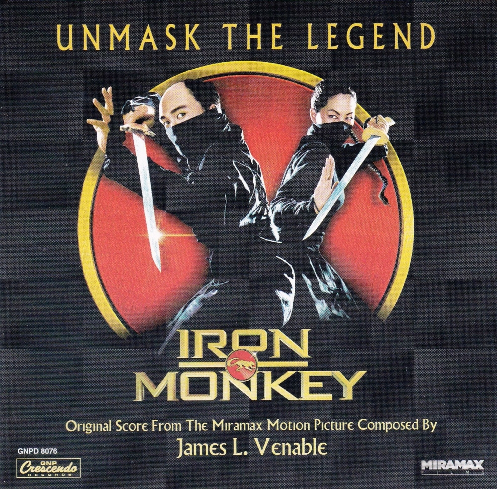 Iron Monkey Original  Soundtrack From The Miramax Motion Picture  James l.V