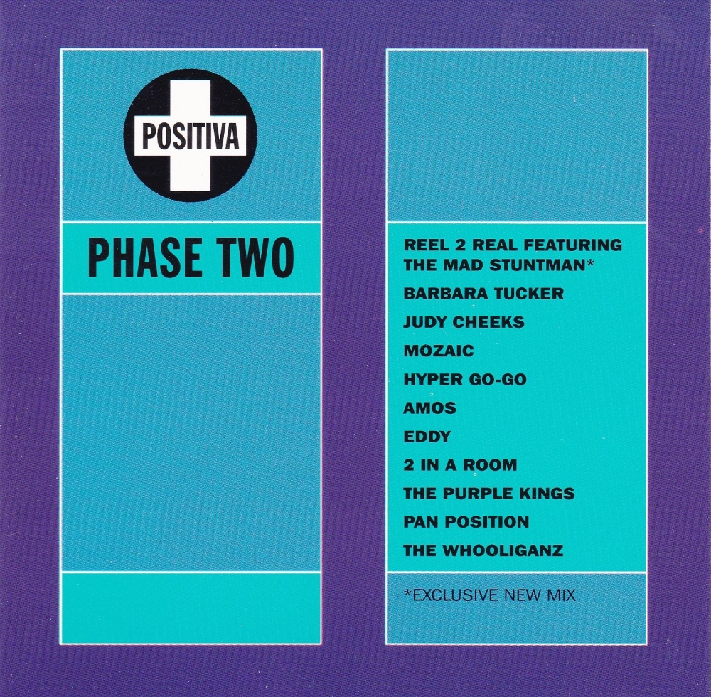 Various Artists     Positiva Phase Two       1994 CD