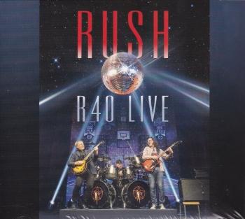 Rush     R40  Live    2015 3 CD Set