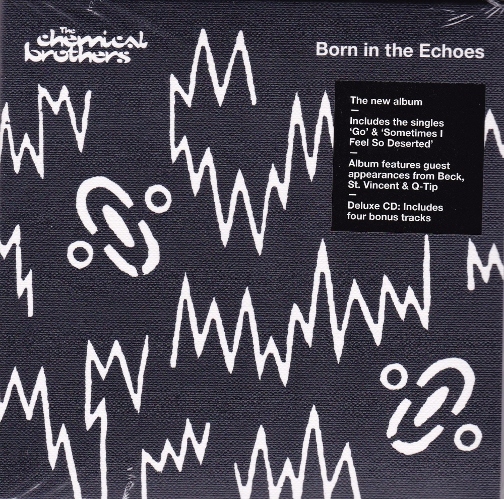 Chemical Brothers     Born In The Echoes   Deluxe Edition 2015 CD