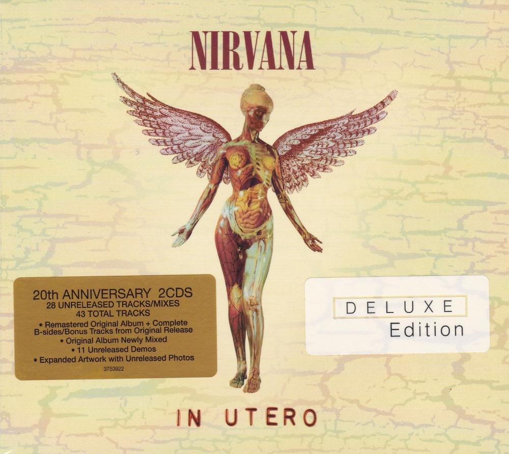 Nirvana         In Utero   20th Anniversary  Deluxe Edition 2013 Double CD