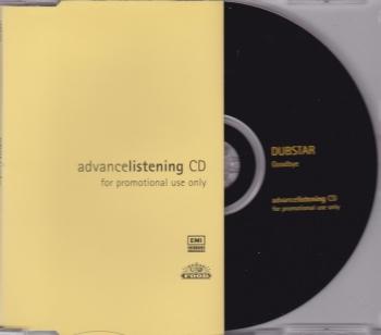 Dubstar           Goodbye      1997 Advance Listening Promotional CD