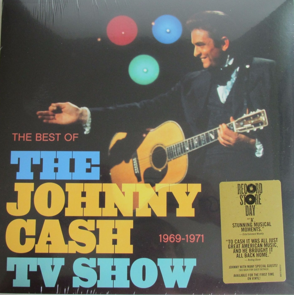 Johnny Cash  The Best Of The Johnny Cash TV Shows 1969-1971  Record Store D