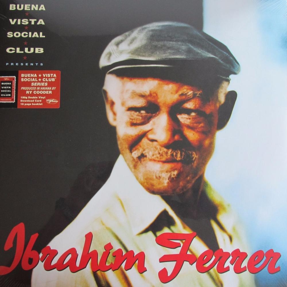 Ibrahim Ferrer      Buena Vista Social Club  180 Gram Double Vinyl + Downlo