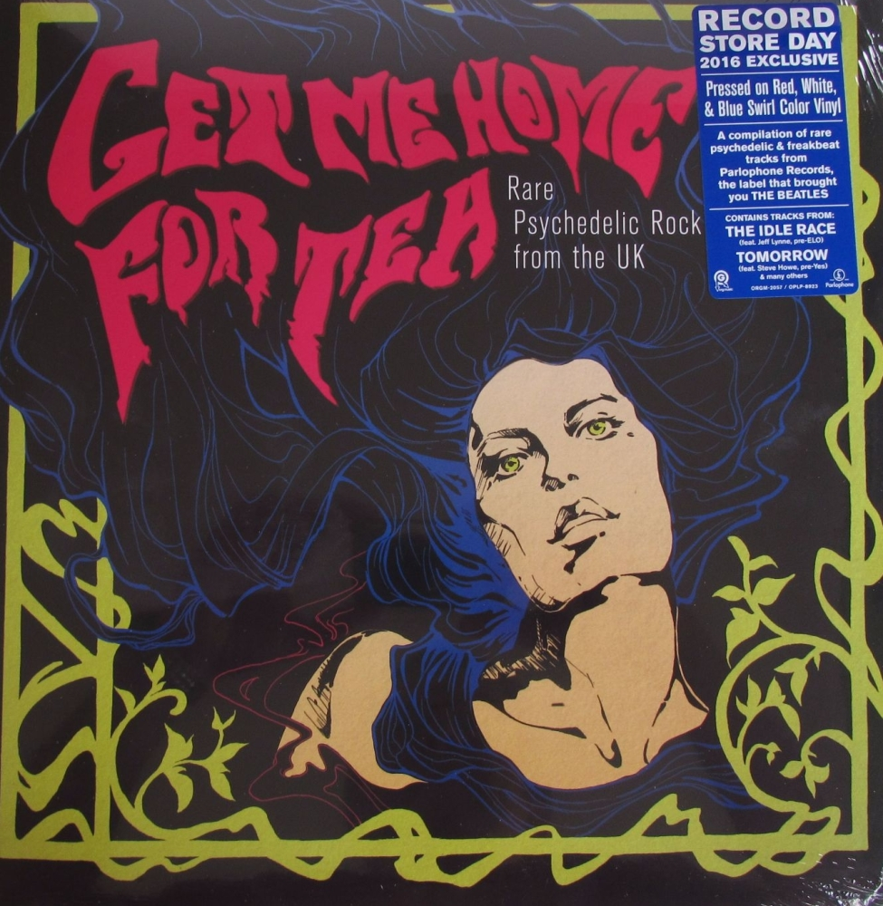 Get Me Home For Tea     Rare Psychedelic Rock From The UK  2016 Red,White,