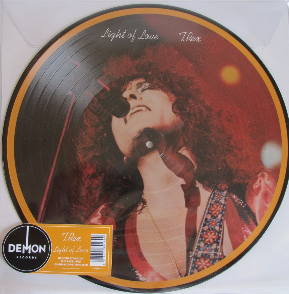 T.Rex       Light Of Love  Picture Disc    2015 Record Store Day Exclusive