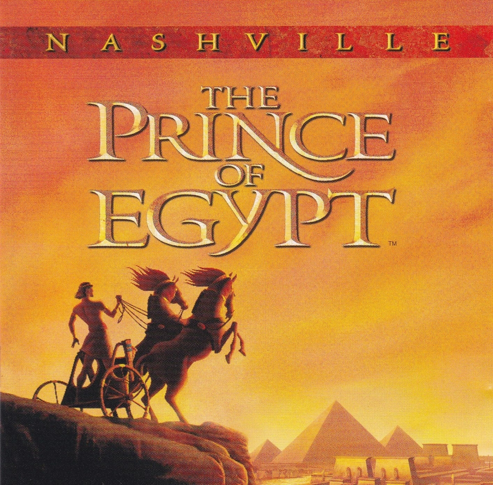 The Prince Of Egypt  Nashville     Various Artists   1998 CD