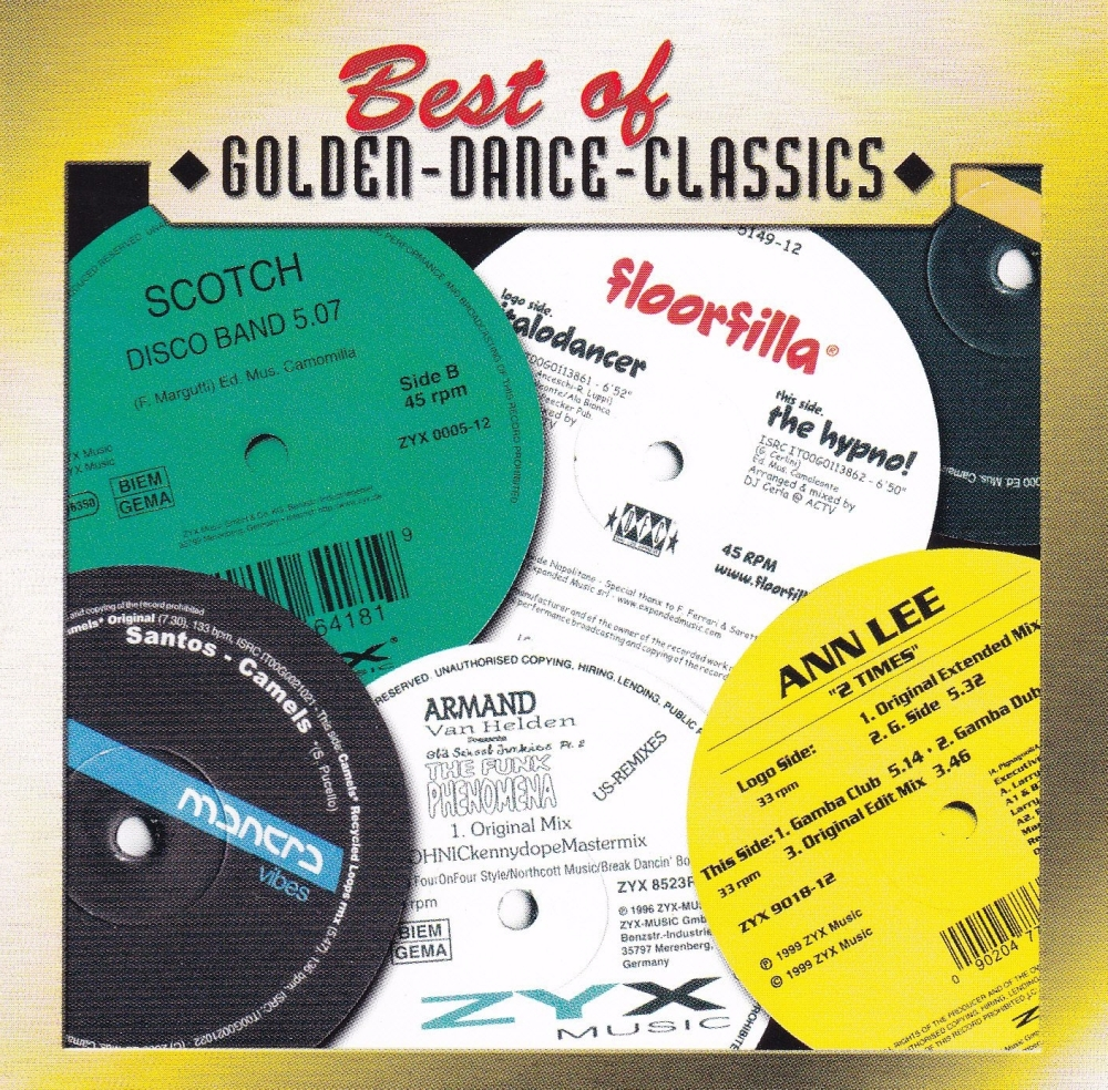 Best Of Golden Dance  Classics     Various Artists    2002 CD